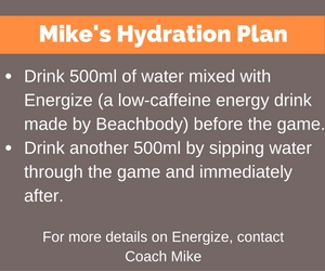 hockey hydration
