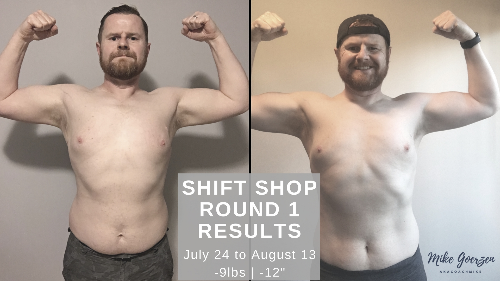 Shift Shop Results Round 1